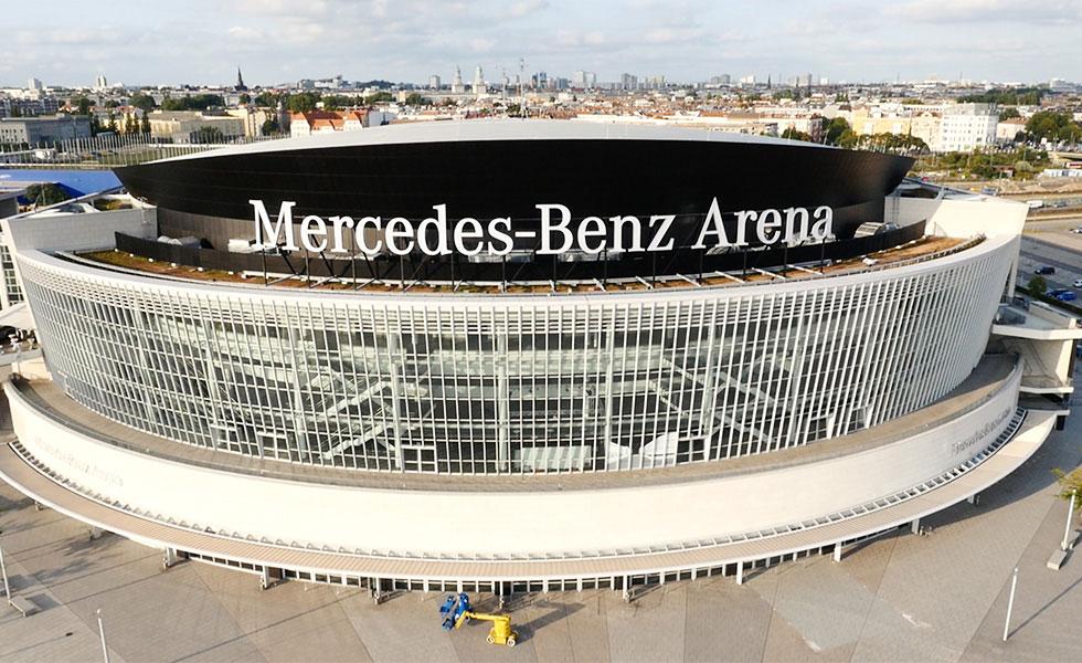 Mercedes-Benz-Arena - Norenz Foliensysteme GmbH